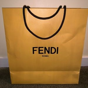 Fendi shopping bag